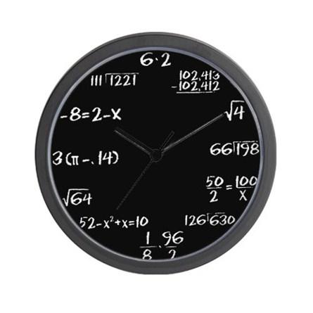 Math takes Time