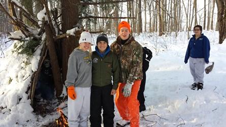 Winter Survival Training -- December 2013