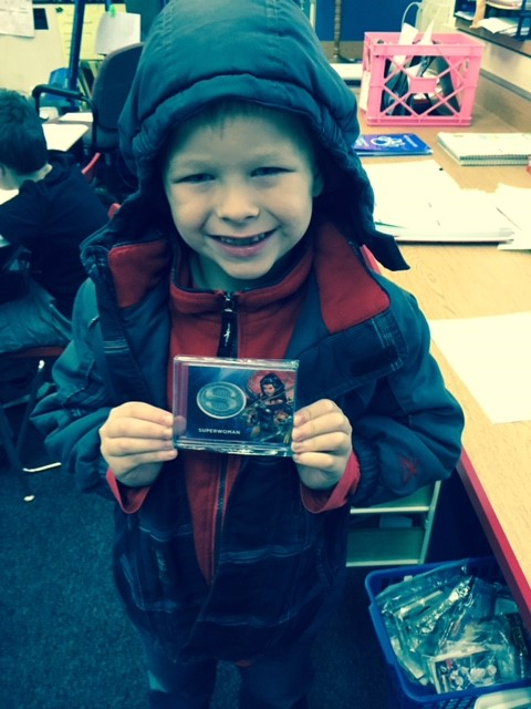 Chance with DC Comics Superwoman Patch card