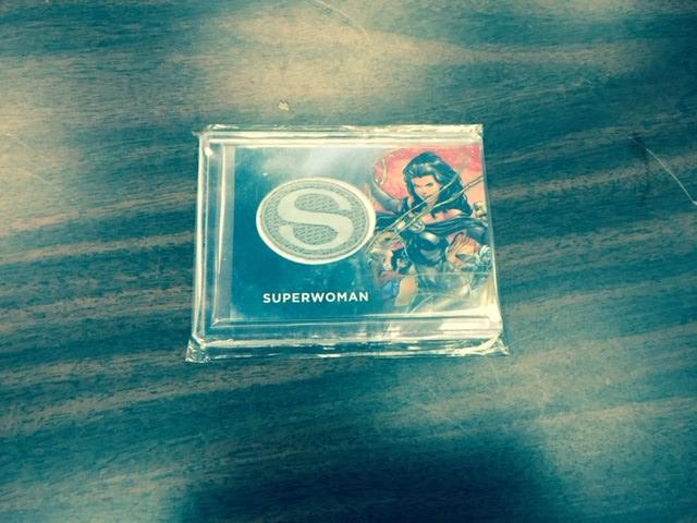 DC Comics Superwoman Patch Card