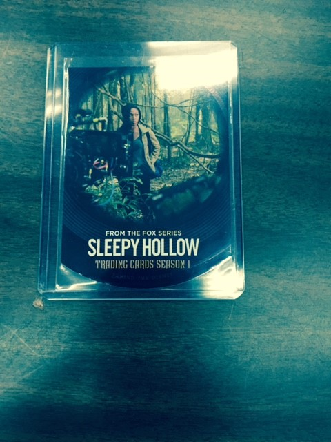 Sleepy Hollow Behind the Scenes Card