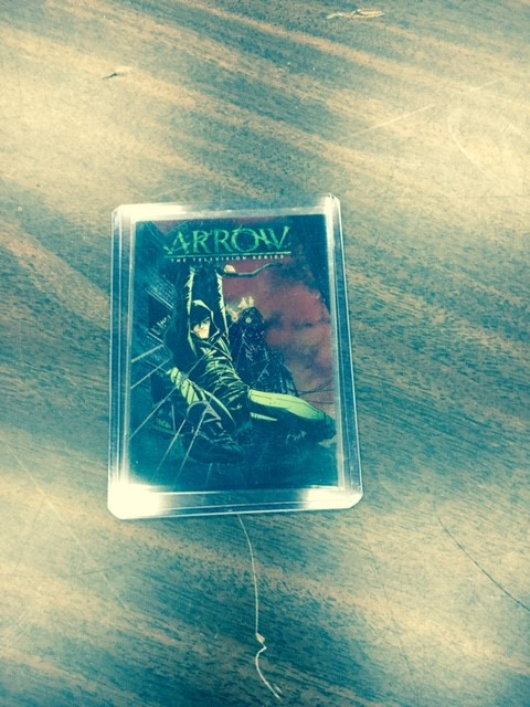 2015 Cryptozoic Arrow Comic Cover
