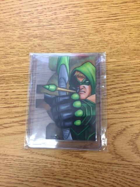DC Comics Sketch Card - Green Arrow