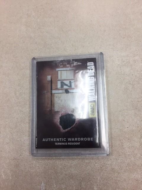 The Walking Dead Wardrobe card