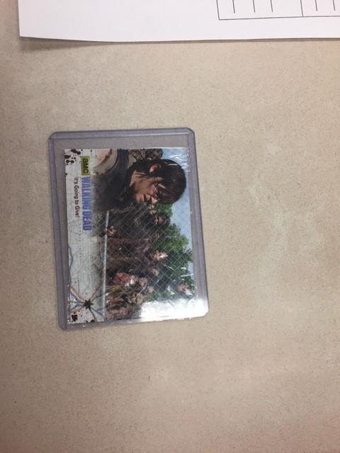 The Walking Dead Foil Card