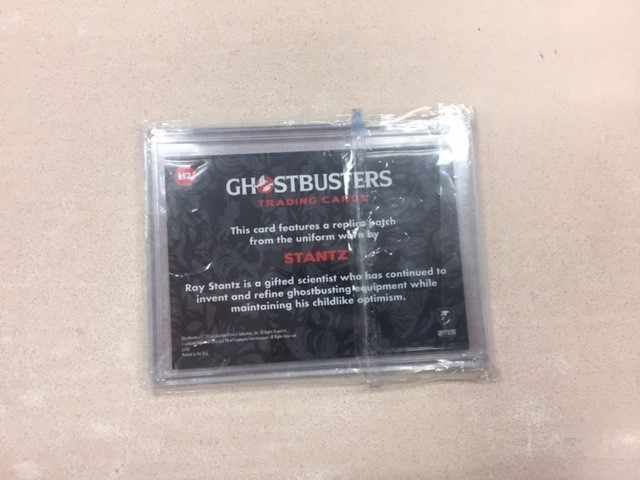 Ghostbusters Patch card