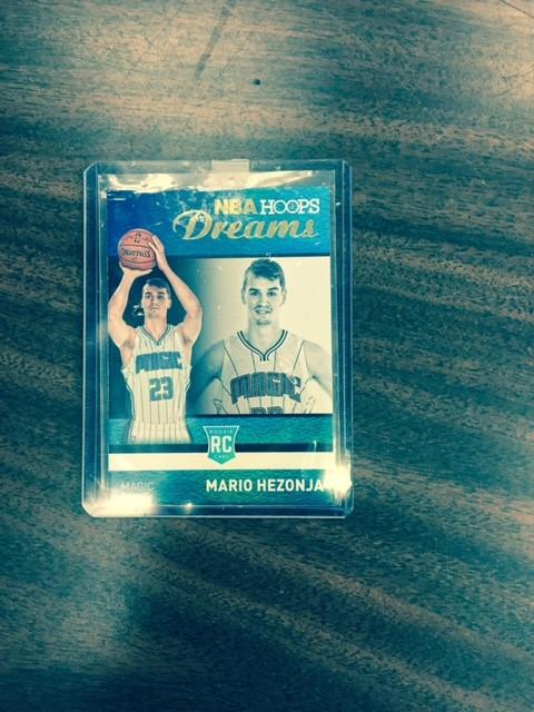 2015-16 NBA Hoops Dream Mario Hezonja