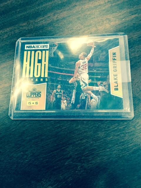 2015-16 NBA Hoops High Flyers Blake Griffen
