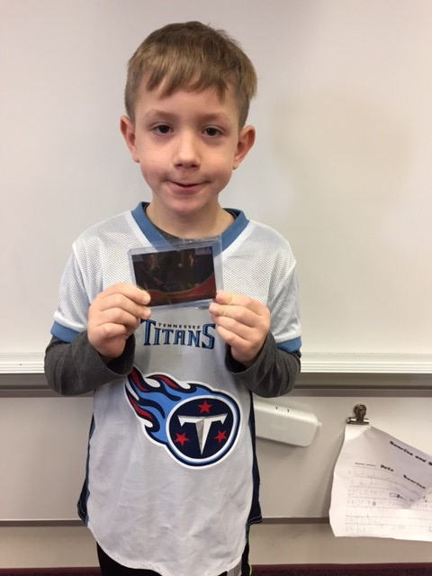 """Kaleb with """"The Flash"""" Foil card"""