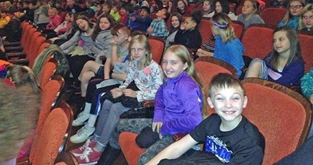 4th Grade Philharmonic field trip