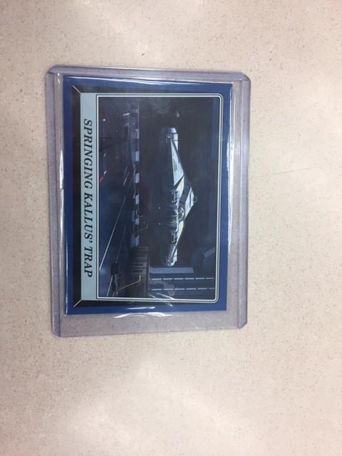Star Wars Blue Border Insert Card