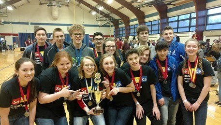 Congratulations Science Olympiad team, 3rd place @ Regional Competition.