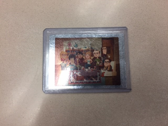 Aiden's The Big Bang Theory Foil card