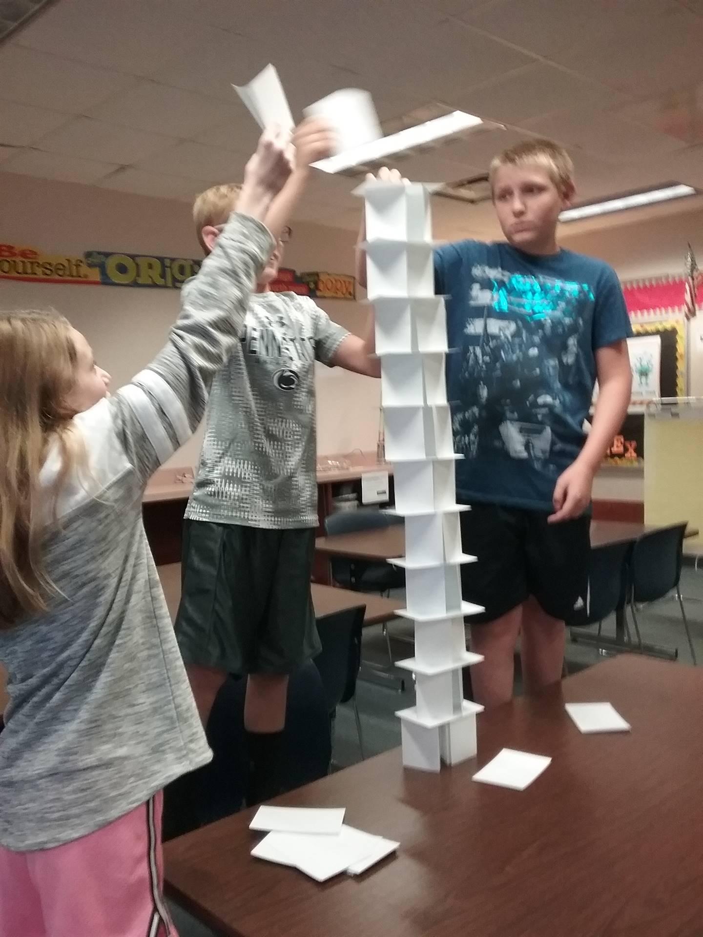 Towers - Grade 6